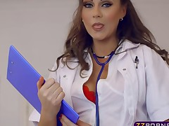 Patient fucks his sexy doctor to the booty who was his crush