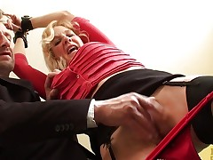 Kinky British sub milf bouncing ontop maledoms cock