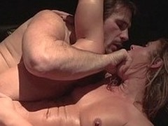 Natural Sheena Shaw gets huge lend substance padlock poked up her butt