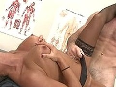 Lezley Zen runs a spectacular medical clinic tucked away up north somewhere. This Babe uses her raunchy powers to assist her patients forget about the ache that caused `em to visit her. Her vagina is bewitched and can cure nearly any intolerable pang.