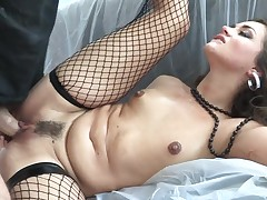 Allie Haze is on fire in steamy oral action with sexy guy