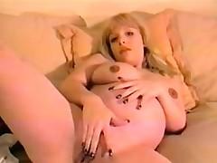 Pregnant massive tit mumsy finger Ashlea from 1fuckdatecom