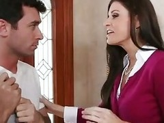 Hot MILF India Summer Sucks Cock and Gets ...
