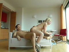 Sweet Cat gets throat fucked hard by Rocco Siffredi
