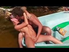 Hot Babe On Boat Hardcore
