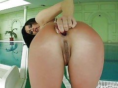 Ass Traffic Getting her ass filled with 2 jocks in her
