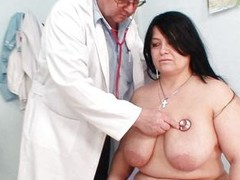 Grown overcast Rosana went to doctor`s to acquire her congress checked up well. But there is this wicked pervert doctor who makes her exposed and begins playing with her firm chubby body! See no matter what this chab is toying with her huge mambos and gap