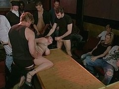 Sexy main bound, suspended, punished and fucked by realize hitched trainers.