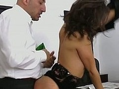Hawt disastrous cloudy gets her worthwhile arse and cunt fucked hardcore !
