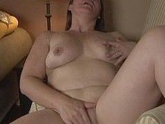 nasty housewife playing with herself