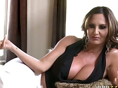 Milf oriental with phat booty is so wet and so horny in interracial action that fucks like a sex crazed beast