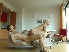 Blonde pornstars is getting penetrated