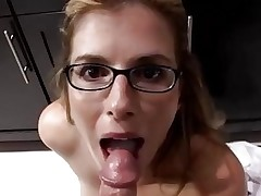 Mom Cory Chase help you blackmail your sister to handjob you.