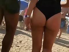 Spy and Voyeur Beach club hot girl suit sexy