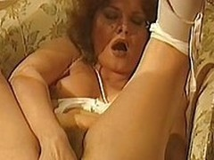 This retro porn video disjointedly off with a cadger getting blown by two hot chick. It`s even hotter than you think in compensation they are being watched by the dude`s old wife while she masturbates her hairy vagina.