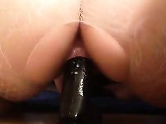Bbw rides dildo in lingerie Ina from 1fuckdatecom