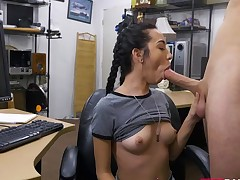 Kiley Jay takes a big dick real quick