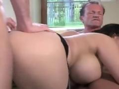 Asian Big fake tits DP