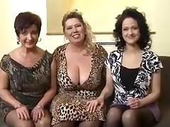 Three old ladies and a dick