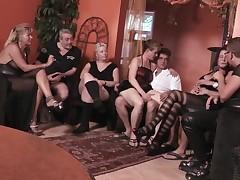 German Non-professional Older Swingers
