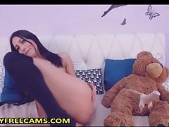 Watch Me Fucking My Teddy Bear