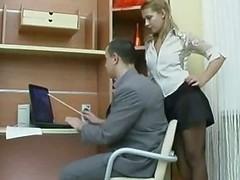 Very Hot Russian Amateur Secretary