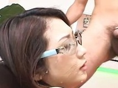 Esurient Hatsumi Kudo finds say no to pussy licked and eaten by say no to lover