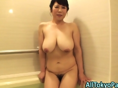 Blowing mature asian doxy