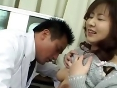 asian doctor coupled with asian ass