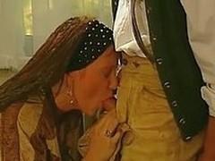 Heidi akin to how rub-down the bavarians fucked in rub-down the 80s